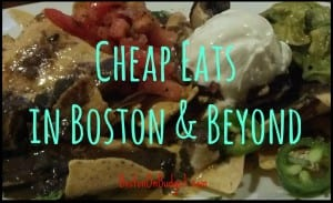 Cheap Eats in Boston