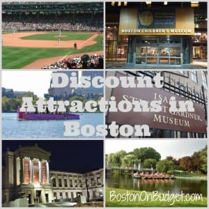 Discount Attractions in Boston