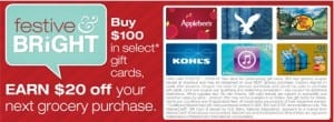 Shaws Gift Card Promo 2013