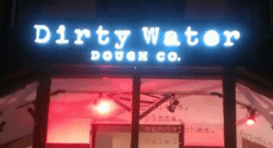 dirty water dough
