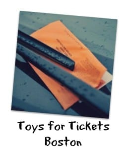 toys for tickets