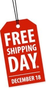 Free Shipping Day 2013
