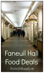 Faneuil Hall Food Deals