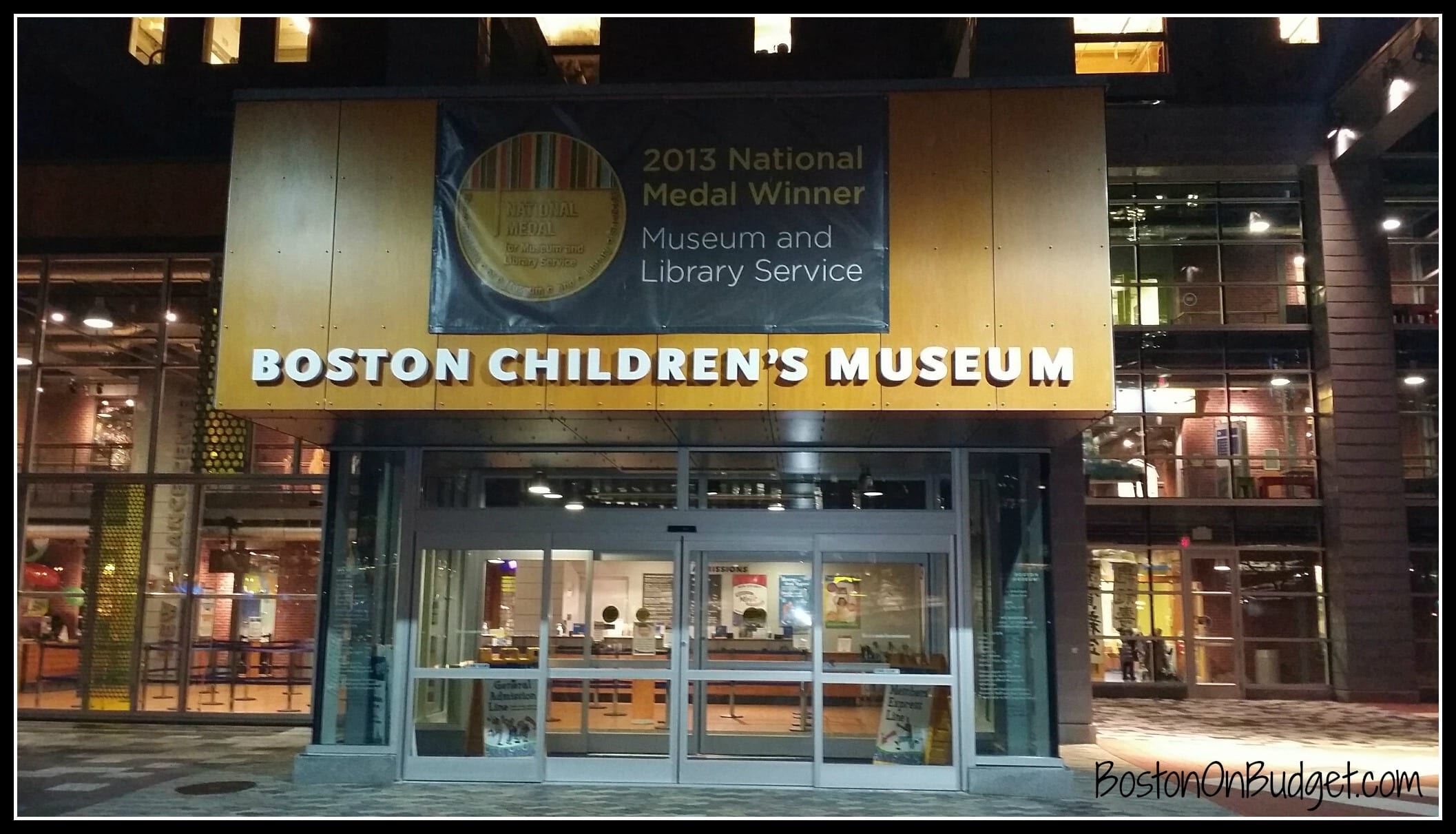 Boston children's museum coupons