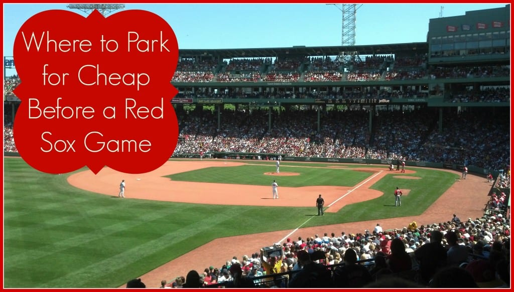Red Sox Game Day Parking