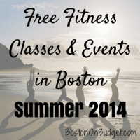 Free Fitness Boston 2014