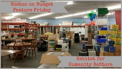Habitat for Humanity ReStore in Boston, MA