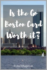 Go Boston Card Discounts and Deals