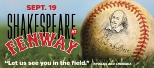 Shakespeare at Fenway Free