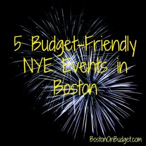 New Year's Eve 2015 on a budget