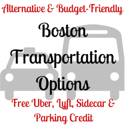Cheap Boston Transportation Options with Free Credit
