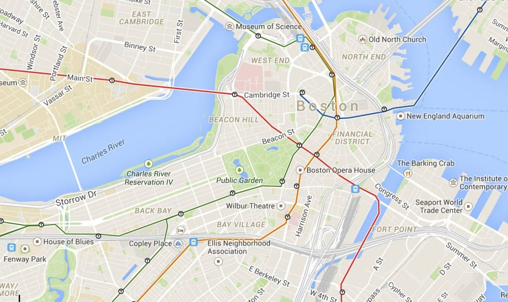Boston Hotels Where to Stay in Boston on a Budget – Tourist Map of Boston