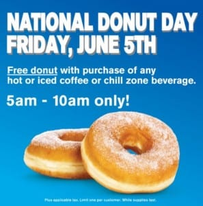 National Donut Day Cumbys