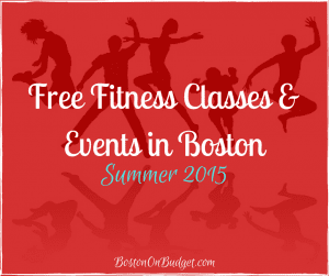 Free Fitness in Boston Summer 2015