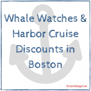Boston Whale Watching and Boston Harbor Cruises