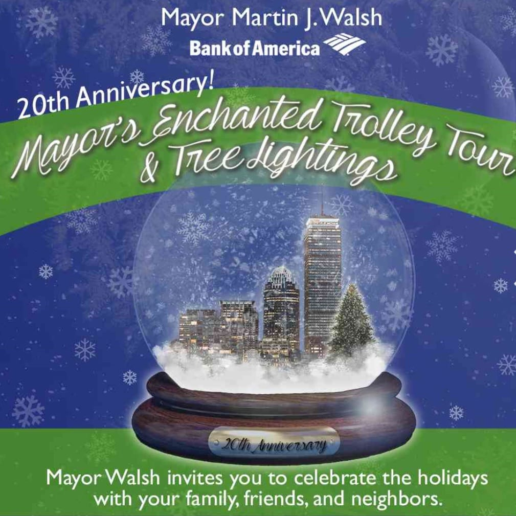 Mayors Enchanted Trolley Tour