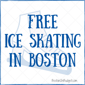Boston Ice Skating Rinks for Free Admission