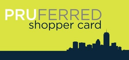 Pruferred Shopper Card