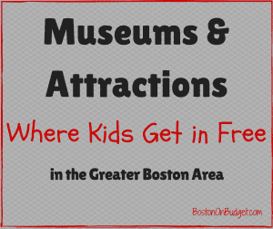Boston Museums Free for Kids