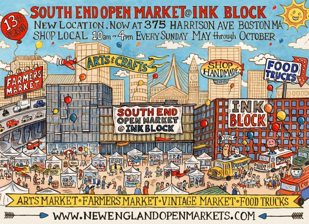 Boston South End Open Market