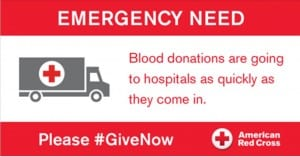 Emergency Need for Blood Donors