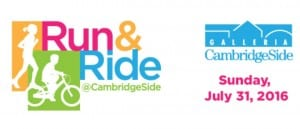 Run and Ride at CambridgeSide