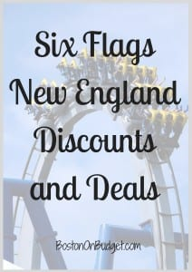 Six Flags New England Discount Tickets