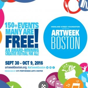 2016 Fall ArtWeek Boston