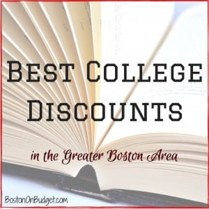 College Students Discounts in Boston
