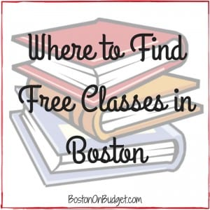 Free Classes and Education in Boston