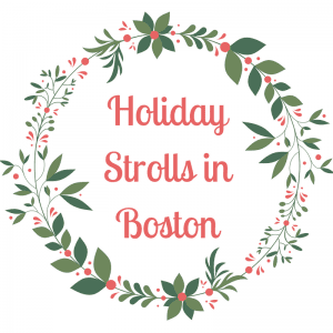 Boston Holiday Strolls 2016