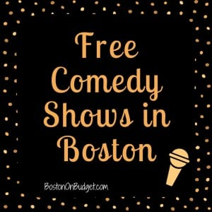 Boston Free Comedy Shows