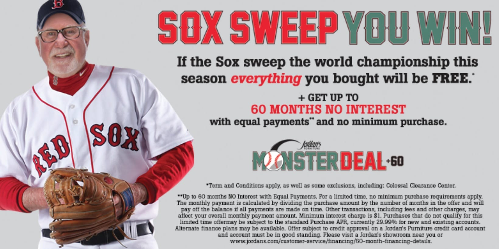Jordan s Furniture 2017 Red Sox Promotion