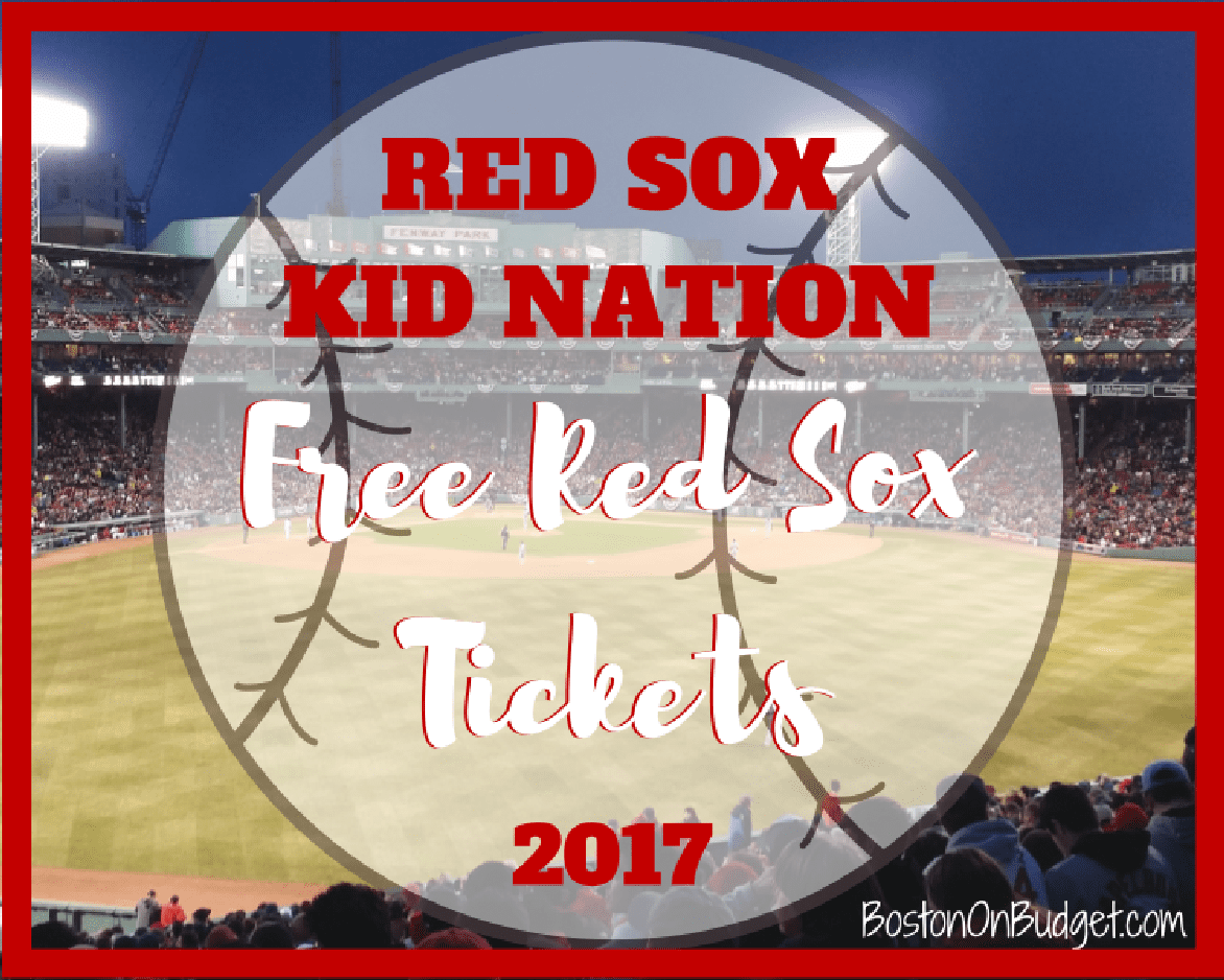 Free Boston Red Sox Tickets for Kids | Boston on Budget