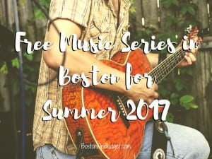 Free Music in Boston for Summer 2017