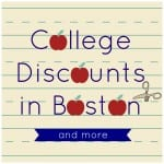 college discounts