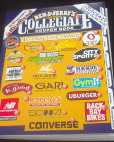 collegiate coupon book boston 2013