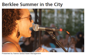 Berklee Summer in the City