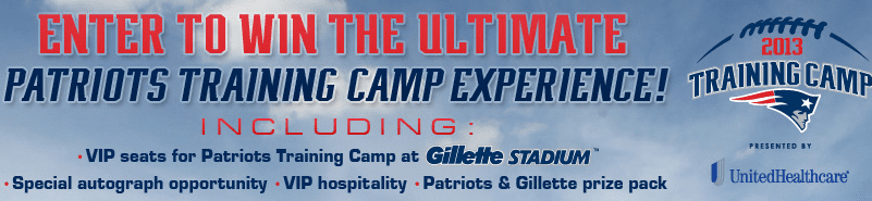 Training Camp Patriots Contest
