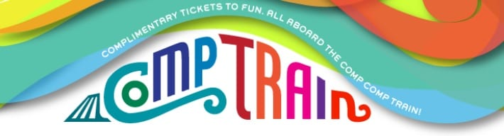 Goldstar Comp Train Tickets