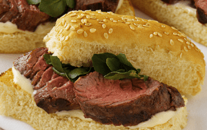 Morton's Petite Filet Mignon Sandwiches