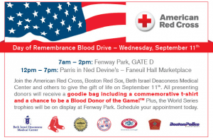 Day of Remembrance Blood Drive 2013