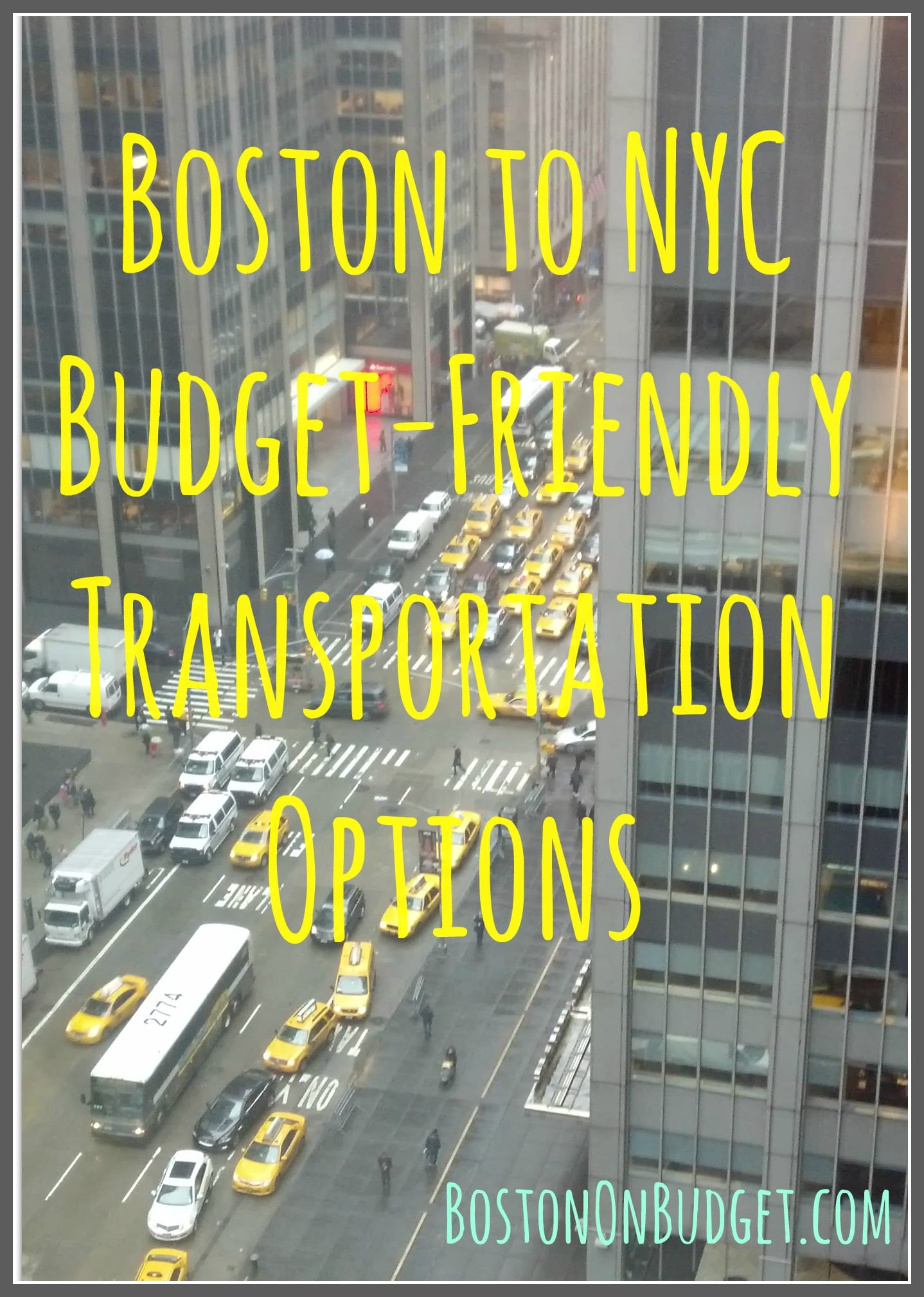 Boston to NYC Bus Options (My Bolt and Megabus Experience