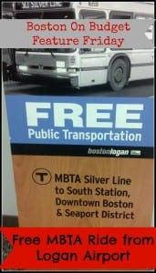 Free Ride from Boston Logan Airport