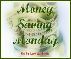 Money Saving Monday Image