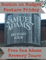 Sam Adams Brewery Tours