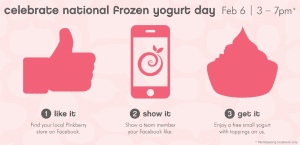 Pinkberry National FroYo Day 2014