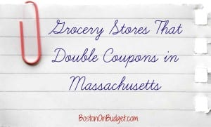 Grocery Store Doubles Massachusetts
