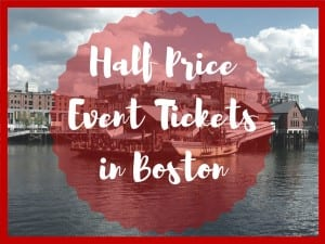 Free and Discount Event Tickets in Boston