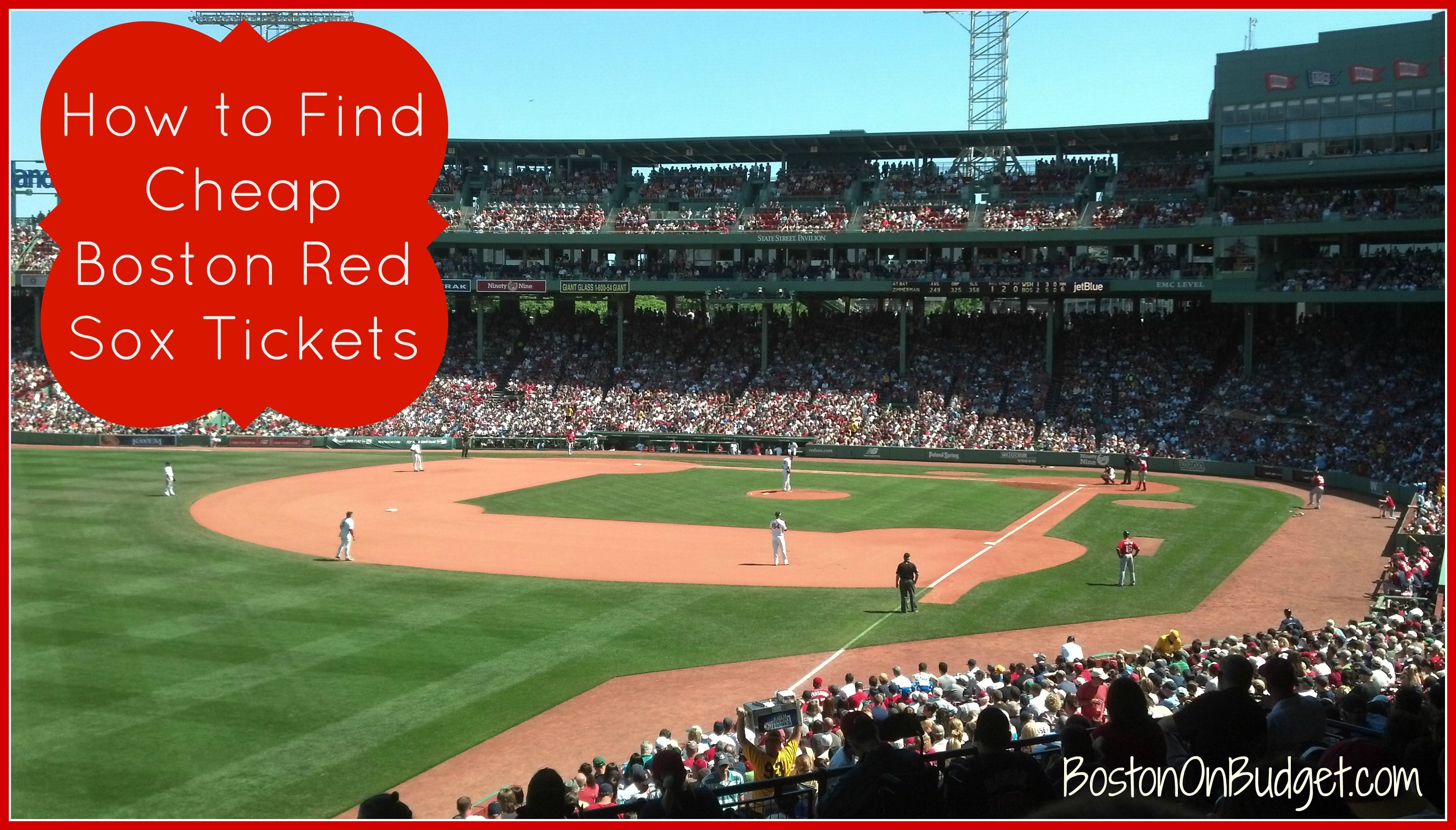 How to Save at Fenway Park: Find Cheap Red Sox Tickets - Boston on